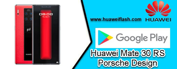 Play Store for Huawei Mate 30 RS Porsche Design