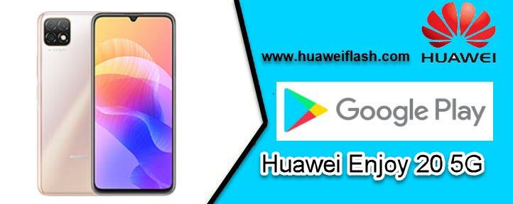 Play Store on Huawei Enjoy 20 5G