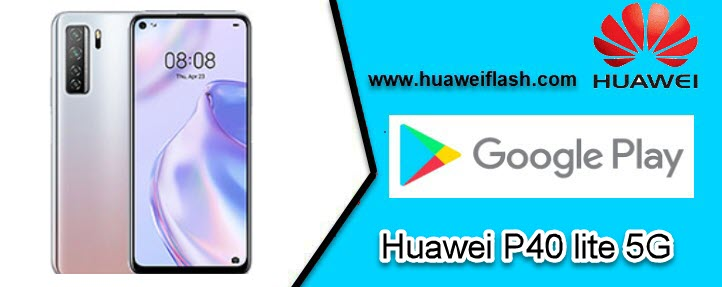 Play Store on Huawei P40 lite 5G