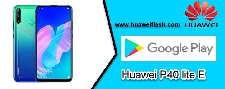 Play Store on Huawei P40 lite E