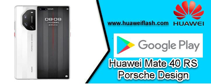 Play store for Huawei Mate 40 RS Porsche Design