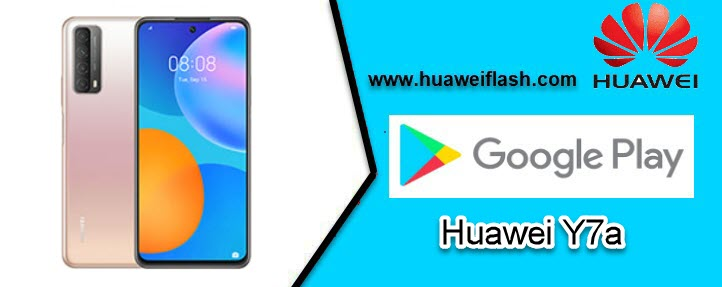 Play store on Huawei Y7a